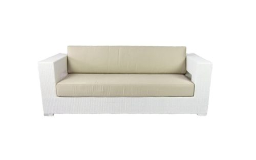 sofa aires 3 plazas blanco