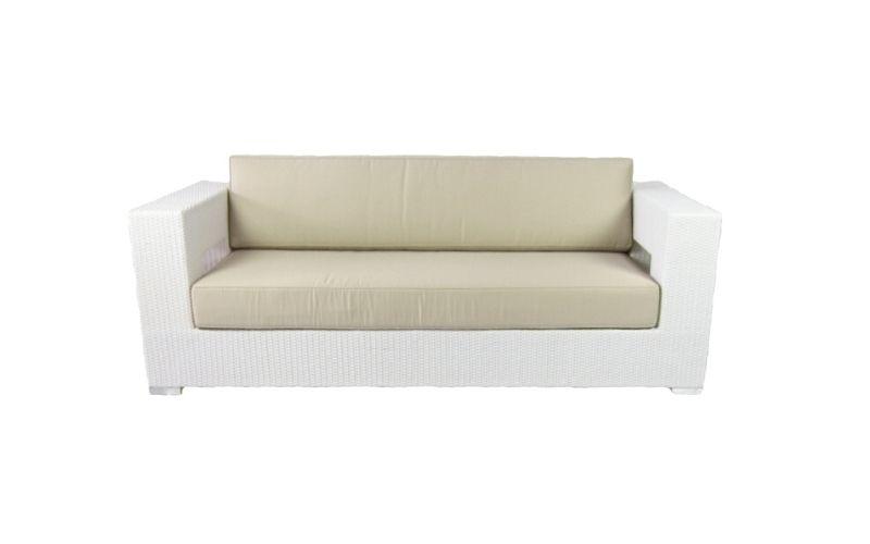 sofa aires 3 plazas blanco