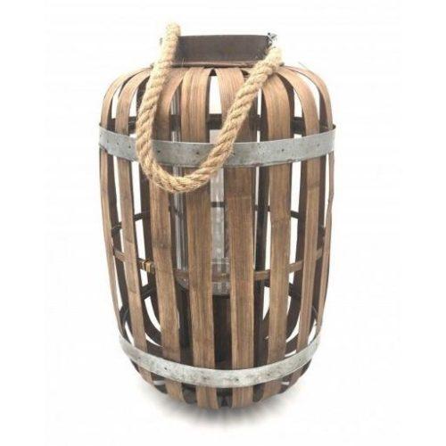 Farolillo de bambu Ovalado