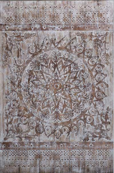 Cuadro: Mandala sobre lienzo.
