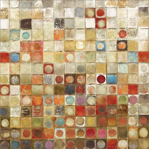 Pintura abstracta moderna al óleo