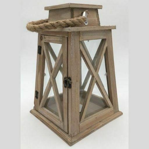 farol de madera