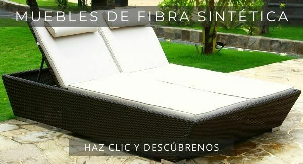 muebles de fibra sintetica