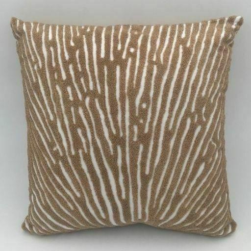 Cojín de algodón Coral