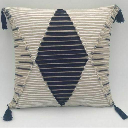 Cojines de algodón Losange