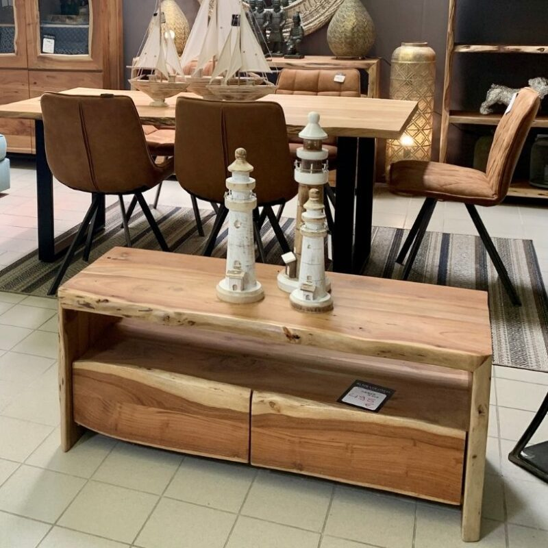 Mueble de Tv de Acacia