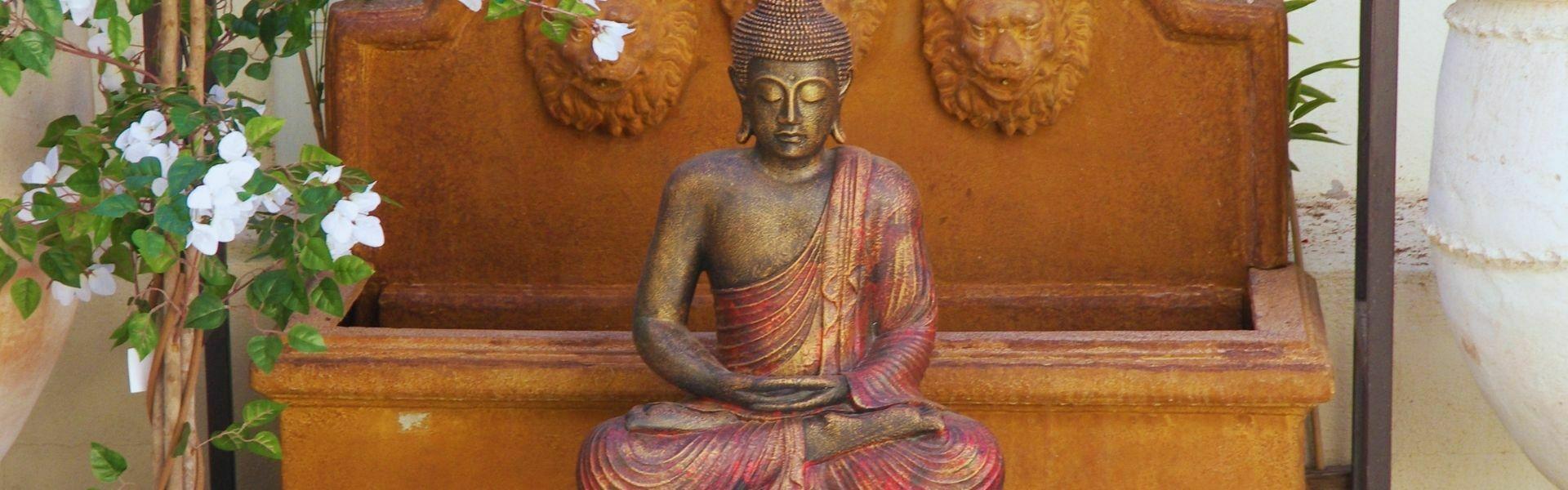 decoracion budista