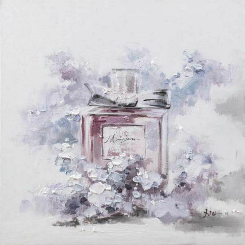 Frasco de Perfume Lila