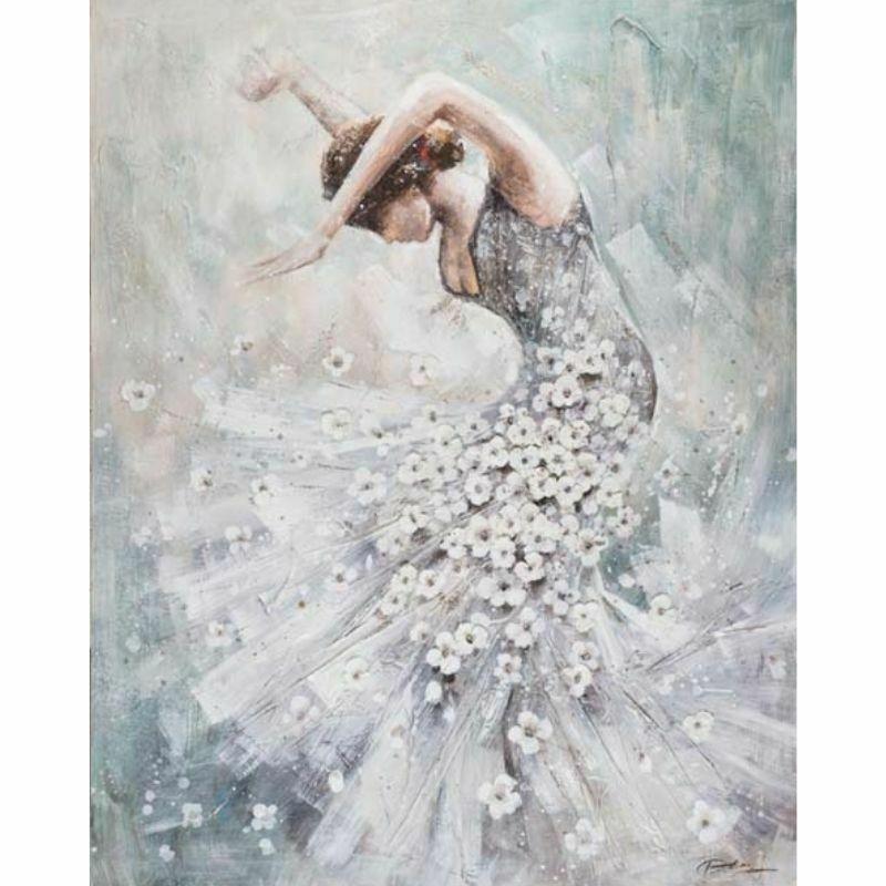Mujer Bailarina Flamenca